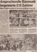 Jahreskonzert 1988