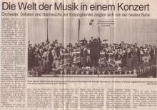 Jahreskonzert 2000
